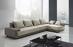 28 Modern Sofa Design For Beautiful Living Room Furniture Design Trend 2018 — Fres Hoom Sofa Set Designs, L Shaped Sofa Designs, Modern Sofa Designs, Modern Design, Sofa Furniture, Living Room Furniture, Furniture Design, Living Rooms, Dark Furniture