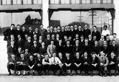 Vada Watson Somerville (top row, far right) pictured with her graduating class at the University of Southern California, College of Dentistry.  Photo courtesy of the University of Southern California, on behalf of USC Libraries Special Collections.  Source:  dent.umich.edu
