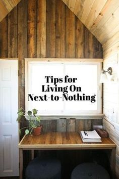 Budget Living: Readers' Tips for Living on Next-To-Nothing
