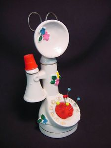 Another figural pin cushion