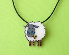 For all my fellow knitters out there - how cute is this? Perfect to wear to a sheep and wool festival.