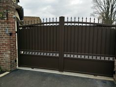 driveway gates sam 39 s fence cercas fences pinterest 39 metals and search. Black Bedroom Furniture Sets. Home Design Ideas