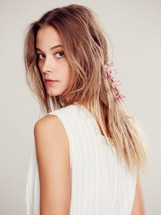 Free People Floral Back Halo, $58.00