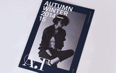 A.T Autumn & Winter 2014-15 Catalogue on Behance