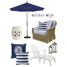 """""""Outdoor Style"""" by Coastal Style Blog"""