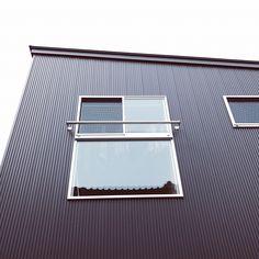 外壁/ガルバリウム/ガルバ/ガルバリウム鋼板/窓/外観…などのインテリア実例 - 2017-05-10 00:13:42 | RoomClip(ルームクリップ)