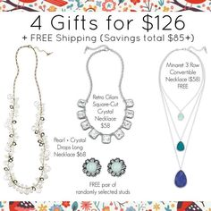 Buy 2 Get 1 FREE ends in 16 HOURS!!! All of our jewelry are hypoallergenic, nickel-free, lead safe and LIFETIME replacement guarantee!!!