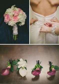 Houston Bridal Bouqet: romantic colour scheme