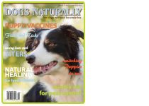 """May 2012  Dogs Naturally  """"DERMagic Organic Flea Shampoo Bar  The uniqueness of this bar lies in the use of Diatomaceous Earth, a fine white powder made by microscopic water creatures."""""""