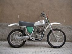 Maico 500 MC 1974. I had a trail riding friend that had one of these. I couldn't keep up with him on my 75 PE250 Suzuki.