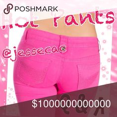 Pants/Jeans Share Group-Q & A Thank you for joining Hot Pants! If this is your first time sharing pls include (new) when signing up for either Pants or Jeans. Example @jessecac Jeans (new). Please specify whether you want Pants or Jeans shared. Please share 5 items. Sign up closes at 4:00 EST. You may begin sharing at 9 and finish by midnight (your time). Please tag your Hostess(@jessecac) with ALL questions as they will be missed if the Closet is tagged. Thank you! @jessecac Jeans