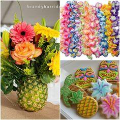 Hawaiian Luau Sweet Fifteen Quinceanera Theme