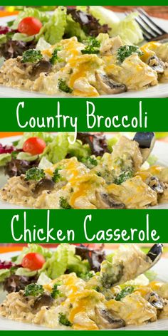 This country-style casserole may just get your family to start eating their broccoli more often. Our Country Broccoli-Chicken Casserole is an all-in-one, healthier-for-you casserole recipe that's creamy and delicious! Diabetic Recipes, Low Carb Recipes, Healthy Recipes, Diabetic Foods, Broccoli Chicken, Chicken Broccoli Casserole, Healthy Casserole Recipes, Casserole Dishes, Food Test