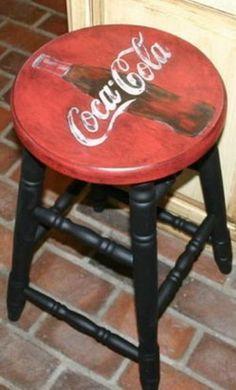petrol memorabilia stool - Google Search