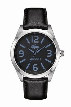 All I want for #Christmas... #Lacoste Men's Black and Blue Montreal watch #LacosteWishList