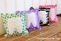 Easy DIY tooth fairy pillows!