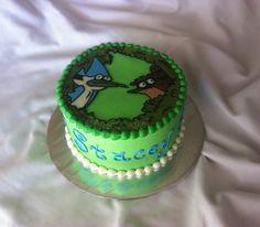 Regular Show Birthday Cake by The Cake Chic, via Flickr