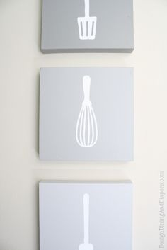 Ombre Kitchen Wall Art Tutorial