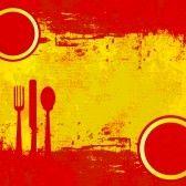La Comida de España-webquest for review of food vocab in spanish - Make a menu in Spanish project
