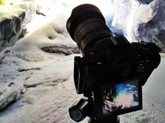 Exploring ice caves in South Iceland - Sony Artisan Colby Brown