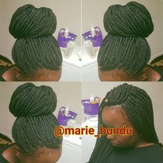 #boxbraids#quality#africanbraid#roanoke#braidlife#braidgame#bunlife