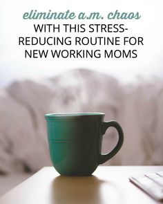 If you're a new working mom and getting out the door in the morning seems impossible, try these tips to plan ahead, stress less, AND get to work on time.