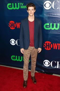 Grant Gustin -  CBS, The CW, Showtime & CBS Television Distribution's 2014 TCA Summer Press Tour Party