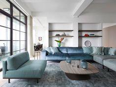 Modern penthouse with stunning terrace in New York | PUFIK. Beautiful Interiors. Online Magazine