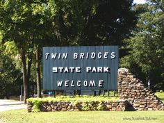 Twin Bridges State Park, an Oklahoma State Park located nearby Grove, Joplin and Miami