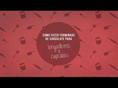 Forminhas de chocolate para cupcake ⋆ Blog do Cupcake