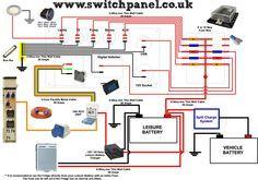 12V/ 240V Camper Wiring Diagram