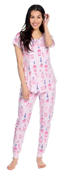 e1ecf1682 Rosé season is here and we re celebrating in  pajamas