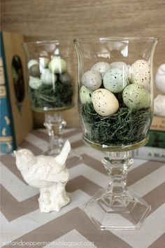 DIY Home Decor easy but elegant approach for creative thinkers - Attractive home decorating ideas. Suggestion filed under diy home decor easy dollar stores and shared on this date 20190314 , number 7491063414 Oster Dekor, Chip Und Joanna Gaines, Diy Osterschmuck, Deco Nature, Diy Ostern, Diy Easter Decorations, Easter Centerpiece, Birthday Decorations, Yard Decorations