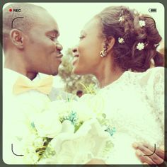 Shout-out to this newly and lovely wedded couple. May your union be fruitful and may it also stand the taste of time. Happy married life dearest. Wishing you all the best.