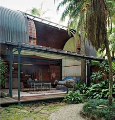 Leplastrier, born in 1939, studying and practicing in Sydney, was an early designer of prefabricated structures, with attention to the building sitting lightly within the surrounding natural enviro...
