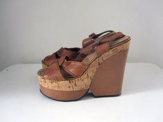 Hey, I found this really awesome Etsy listing at https://www.etsy.com/listing/198670131/vintage-1970s-leather-cork-platform