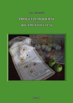 """Manuale:  Anna Castagnetti, """"Progetti moderni per ricami a fili tesi"""".    Ricamo, colore, accostamenti inusuali. I progetti presentati in questo manuale suggeriscono spunti per creare manufatti originali. Un punto di partenza per assecondare la propria fantasia."""