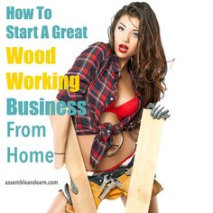 A detailed but easy to start method  for a profit making woodworking business from home.