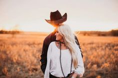 For The West & Wild Photography Country Couple Pictures, Cute Country Couples, Cute Couple Pictures, Cowboy Family Pictures, Western Engagement Photos, Engagement Couple, Engagement Session, Western Family Photos, Engagements