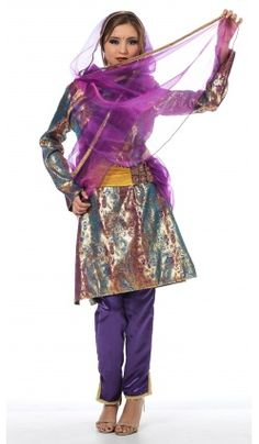 Deguisement d'Anandita Princesse Hindi