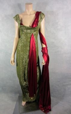 Replica Ancient Roman gown