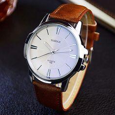 YAZOLE Quartz Watch Men Top Brand Luxury Famous 2016 Wristwatch Male Clock Wrist Watch Business Quartz-watch Relogio Masculino