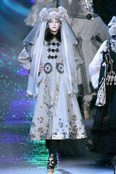 Russian Inspired coat by John Galliano 2009