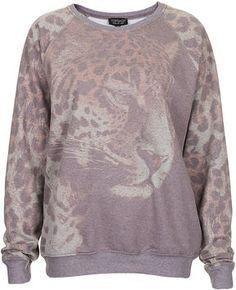 http://www.shopstyle.com: Photo Leopard Sweat