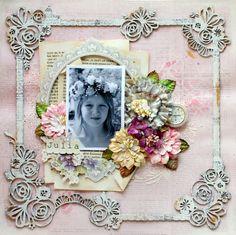 Julia+*C'est+Magnifique* - Scrapbook.com