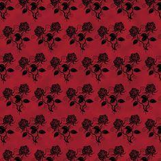 Gothic digital paper gothic scrapbook victorian damask | Etsy