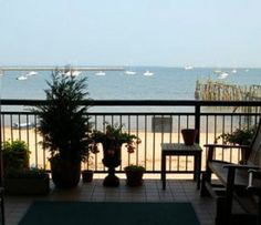 Ross' Grill -- Located on the second floor of Whaler's Wharf. Ask to take your drinks out on the porch overlooking the beach. Very relaxing!