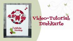 Tutorial: (Nikolaus-)Drehkarte - YouTube