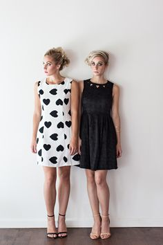 LemonLime Photography shoot with Fashion Column Twins