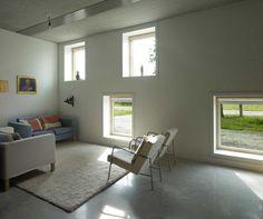 windows...  Buddhist Meditation Centre Metta Vihara by Bureau SLA